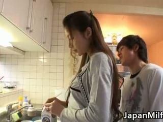 giapponese, cucina, milf