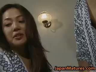 Kåta japanska äldre babes sugande part3