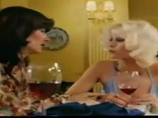Lesbiennes seka in retro film