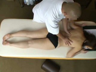 Mosaic: manželka reluctant orgasmu během masáž 2