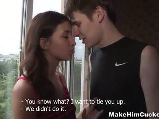 Make Him Cuckold Sex revenge from a jealous girl