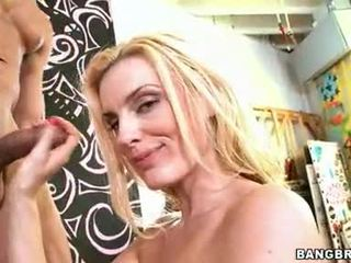 Hot MomMa Darryl HAnah Slurps A Ma Holeive Erect Cock In Her Mouth Like A Noodle