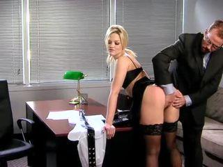 hot office, nice stocking
