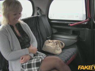 Mature blonde Harley just got brutal in the car