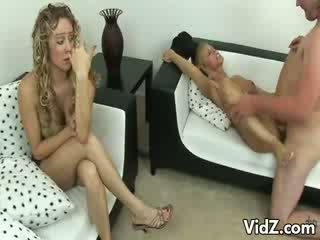 Hot Mom Shares cum With model model