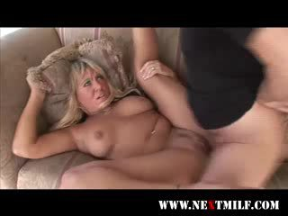 Obese milf dicked hard