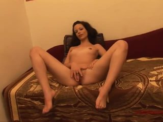 bruneta, deepthroat, vidieť cum online
