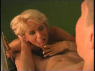 Beautiful Mom Elena With A Boy In Sauna