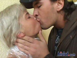 Mummified blonde babe Joana gets her ass screwed