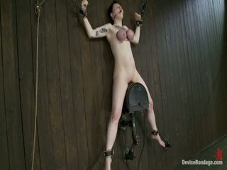 Large Titty Sybian Riding Wench Wears Gas Mask