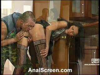 Emmie And Nicholas Hardcore Anal Action