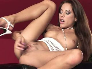 Anita Pearl Satisfies Her Cock Craving Pussy With Her Pleasure Toy