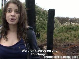 Cseh főiskolás lány szabadban szex mert készpénz