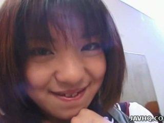 Rino sayaka coño stimulation y caliente adolescente joder!