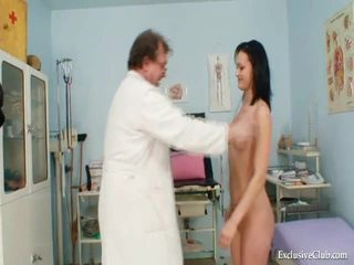 Pavlina Gyno Pussy Speculum Examination On Gynochair At Kinky Clinic
