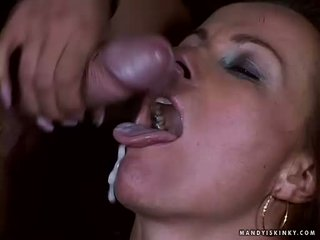 Breasty Black Diamond And Mandy Bright Acquires Fucked And Jizzed In The Face
