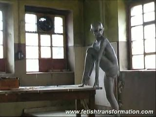 Crazy fetish transformation