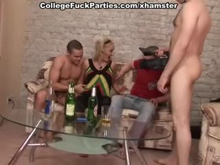 All kinds of the hot college fucking for seducing blonde