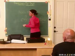 tréfa sophie dee minden, ön busty teacher nagy