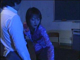 Vroče jap umazano učitelj 1-by packmans