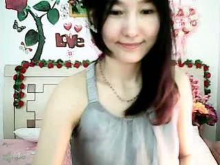 可爱 韩国 凸轮 女孩 tempting 同 丰满 奶