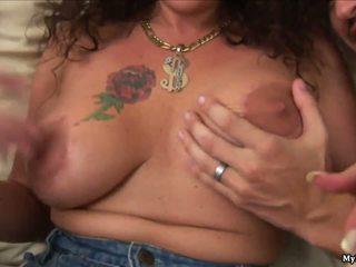 Anjelica Lauren is a mature MILF who has long bru