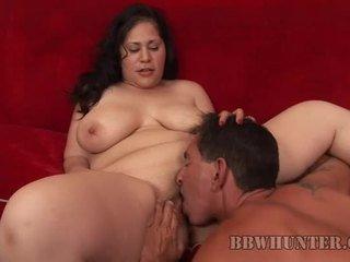 Fattie gets pussy banged