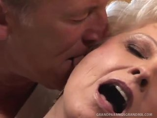 BBW Granny Champagne Big Dicked