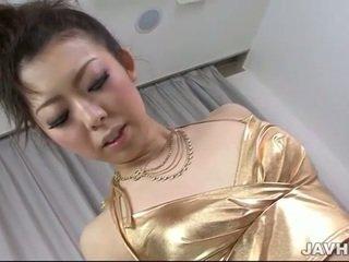 Cutie Yuki Asami has unforgettable orgasm