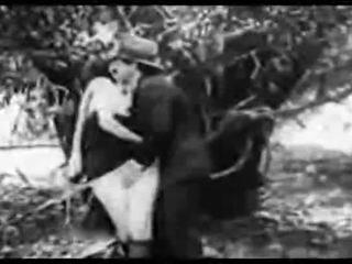 Antický porno 1915 a volný jízda