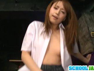 Akiho Yoshizawa Pleases Massive Yonker