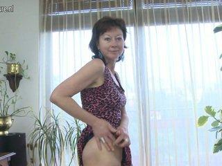 kypsä, euro porno, ikäinen nainen