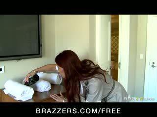 Tiffany Mynx - Hot Big Ass & Tit maid is caught fucking her boss' sonâ