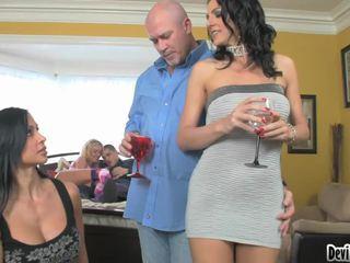Super hawt couples deciding sa what upang do sa their pagtatalik pagtitipon!