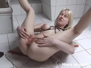 Fist Fucked And Pissed On Teen Bitch