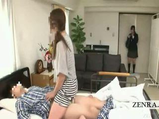 Subtitled japońskie uczennica szpital mamuśka niespodzianka