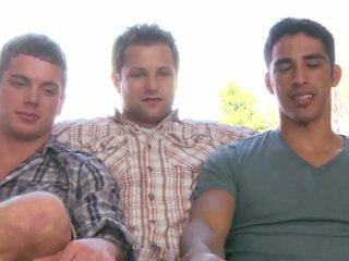 groupsex quality, hunks hq, quality threesome nice