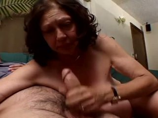 Porner Premium: Hey my grandma is a whore and gagging with a hard dick