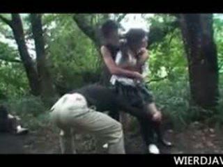 Jap puppe im schule uniform raped und hart rangenommen im draußen