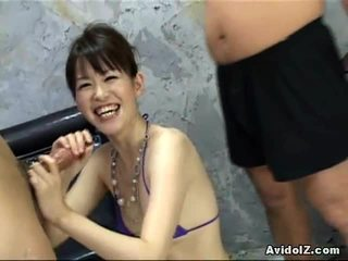 Ai Himeno Can't Live Without Penis Tease And Group Masturbation