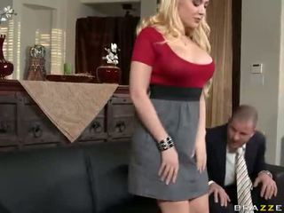 Blonde Babe Gets Banged By A Big Dick Video