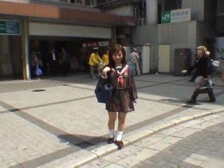 japanilainen, tirkistelijä, amatööri tyttö, itämainen
