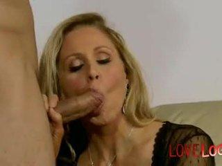 Horny for the TV technician Julia Ann, Vaginal Sex Masturbation Oral Sex Blonde Big Tits Caucasian V