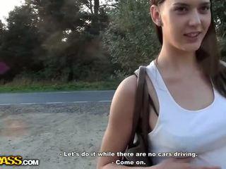 Nasty pick up girl sex outdoor Video