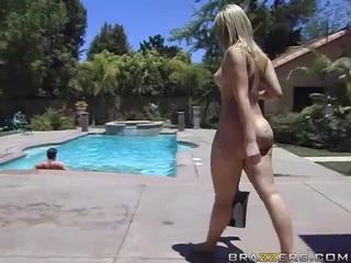Alexis texas rides un grasso cazzo dopo taking un doccia video