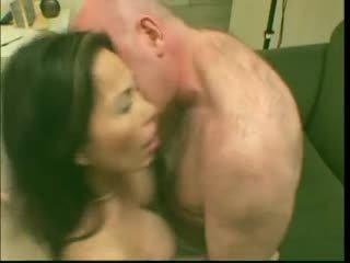 Sexy trưởng thành đĩ á châu lai loves nó trong sâu