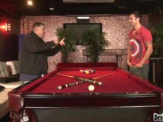 Nice Black Haired Sophia Lomeli Has Hotly Fucked Onto The Pool Table