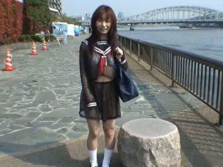 Nice asian schoolgirl