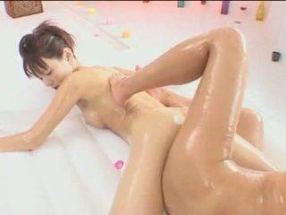 japanese, lick, pussy, lesbian