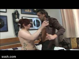 Sssh: Musician shows his milf readhead fan the way of cock